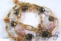 Fire Agate Gemstone Bracelet