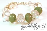 Green Aventurine Gobstopper Bracelet
