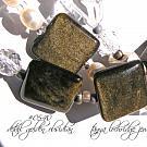 Golden Obsidian, Crystal Quartz Gemstone & Freshwater Pearl Necklace