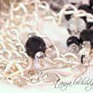 Vintage Victorian Czech Glass Button & Faceted Bead Five-Strand Bracelet