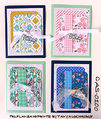 Handmade Greeting Card Collection One